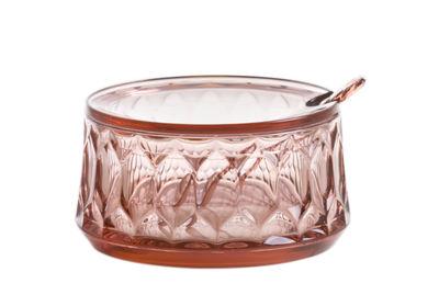 Sucrier Jellies Family / Avec cuillère - Kartell rose en matière plastique