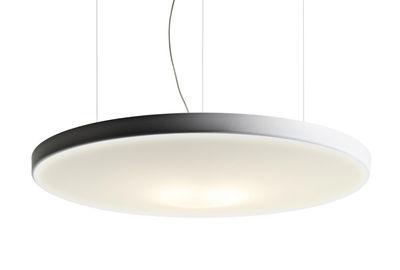 Suspension acoustique Petale / Ronde - Ø 120 cm - Luceplan blanc en tissu