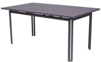 Table Costa / 160 x 80 cm - Fermob prune en métal