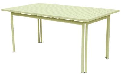 Table Costa / 160 x 80 cm - Fermob tilleul en métal