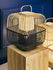 Bamboo Square Table lamp - / Large - H 65 cm by Forestier