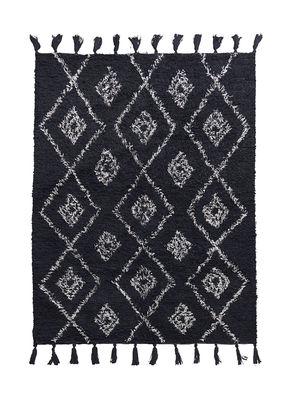 Déco - Tapis - Tapis Marlie / 140 x 200 cm - House Doctor - Noir - Coton