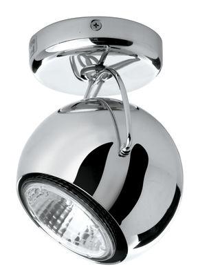 Leuchten - Wandleuchten - Beluga Wandleuchte Wand- und Deckenlampe - Metall-Ausführung - Fabbian - Verchromt - verchromtes Metall