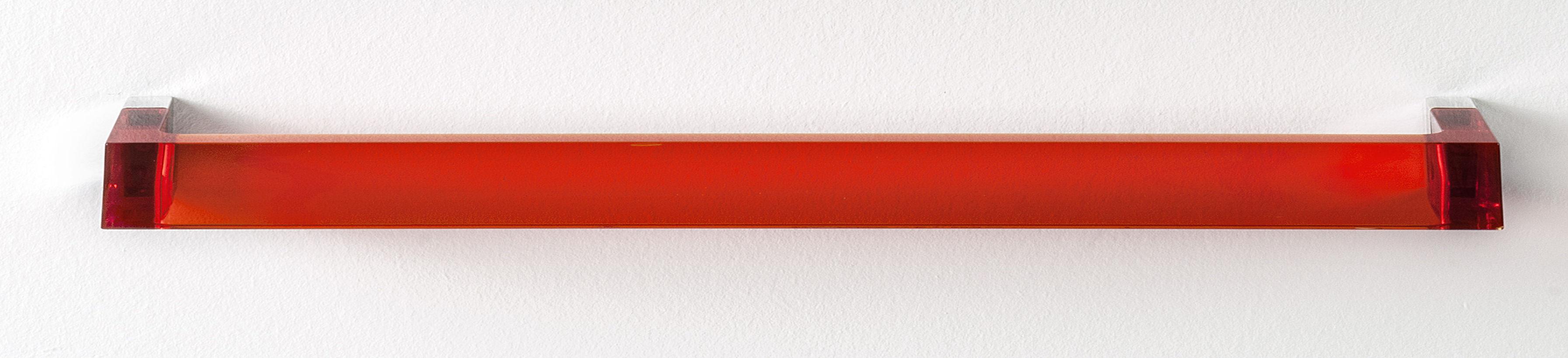 Accessoires - Accessoires für das Bad - Rail Wandtuchhalter / L 60 cm - Kartell - Mandarin-Orange - PMMA
