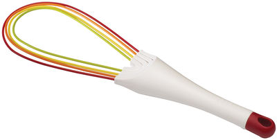 Kitchenware - Kitchen Equipment - Twist Whisk by Joseph Joseph - Multicolored - Silicone, Steel