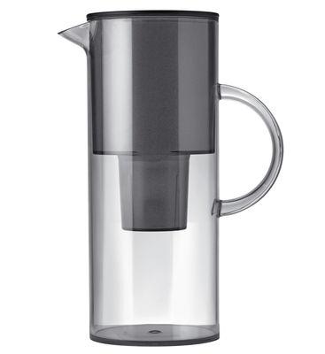 Tavola - Caraffe e Decantatori - Caraffa filtrante Classic - / 2 litri di Stelton - Grigio fumé - Plastica per alimenti