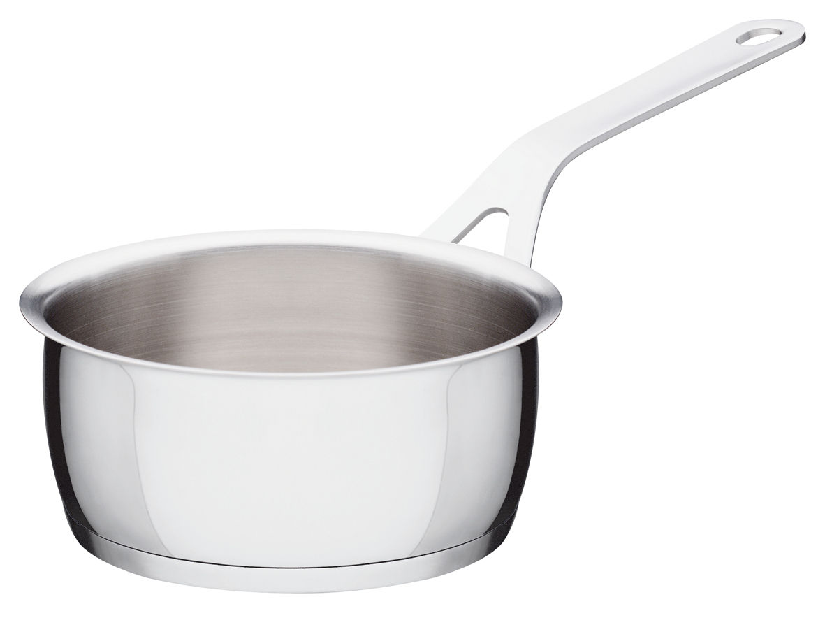 Cucina - Pentole, Padelle e Casseruole - Casseruola Pots and Pans di A di Alessi - Ø 14 cm - Acciaio inossidabile