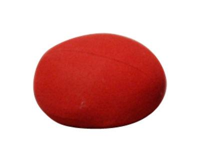 Coussin d´extérieur Nénuphares Pha / 41 x 36 cm - Smarin rouge en tissu