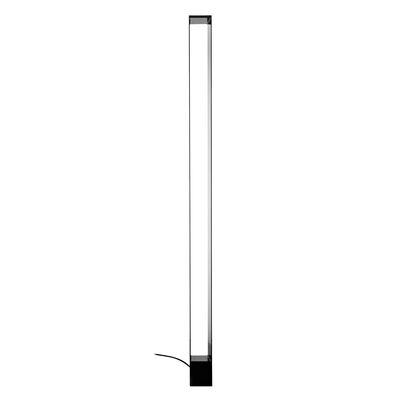 Lighting - Floor lamps - Tru LED Floor lamp - / H 185 cm by Nemo - Black - Extruded aluminium