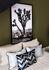 Batik Kissen / 45 x 45 cm - Velours - PÔDEVACHE