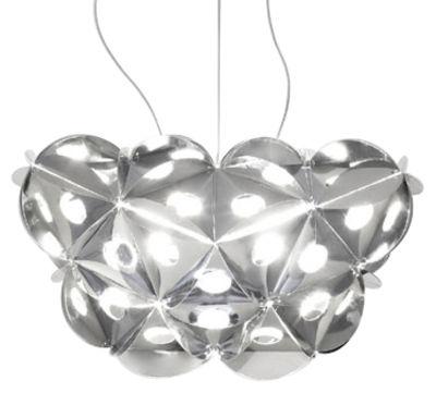 Lighting - Pendant Lighting - HBM : Hommage à Bruno Munari Pendant by Danese Light - Large - Metallic plastic
