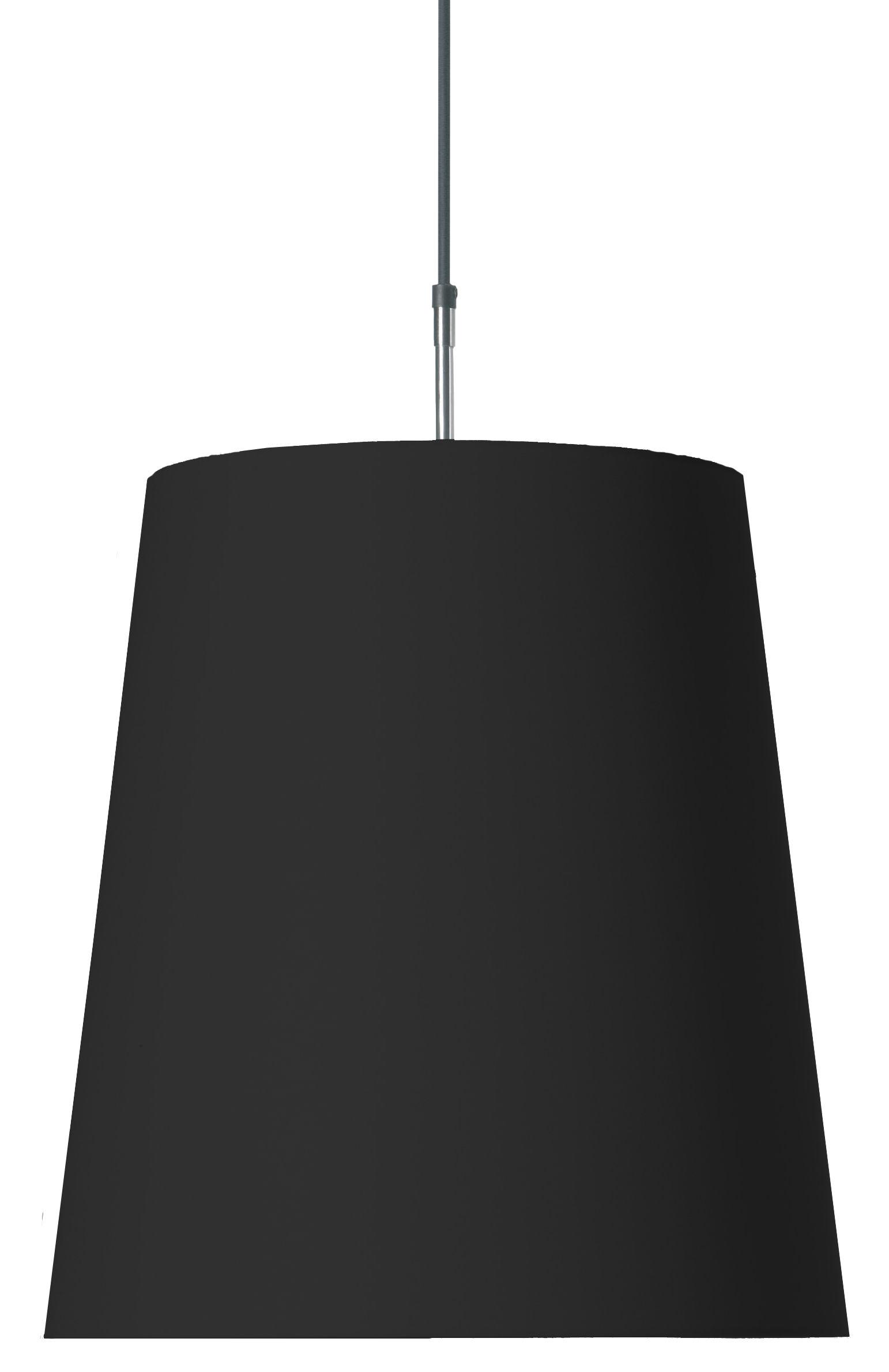 Lighting - Pendant Lighting - Round Light Pendant by Moooi - Black - Cotton