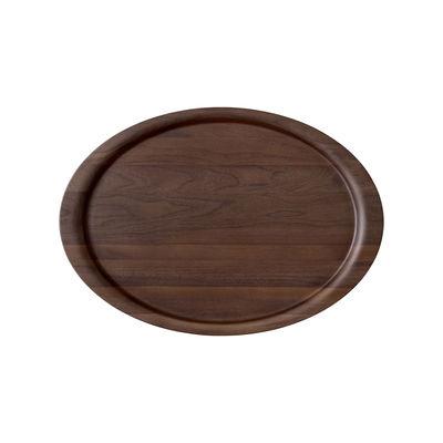 Plateau Collect SC65 / 54 x 38 cm - Noyer massif - &tradition bois naturel en bois