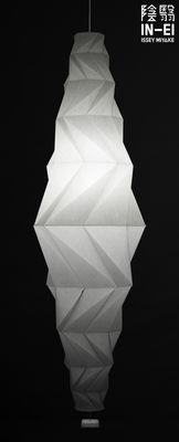 Illuminazione - Lampadari - Sospensione IN-EI Minomushi LED - / Ø 62 x H 195 cm di Artemide - Blanc - Fibra PET riciclata
