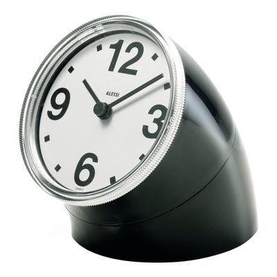 Dekoration - Uhren - Cronotime Standuhr - Alessi - Schwarz - ABS