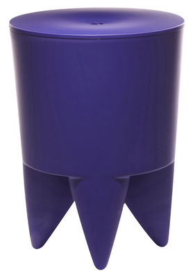 Furniture - Teen furniture - New Bubu 1er Stool by XO - Ultramarine purple - Polypropylene