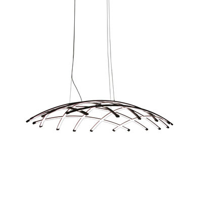 Suspension Céleste LED / Ø 100 cm - Dix Heures Dix noir en métal