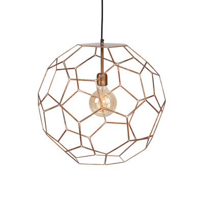 Suspension Marrakech Small / Ø 35 cm - Métal - It's about Romi cuivre en métal