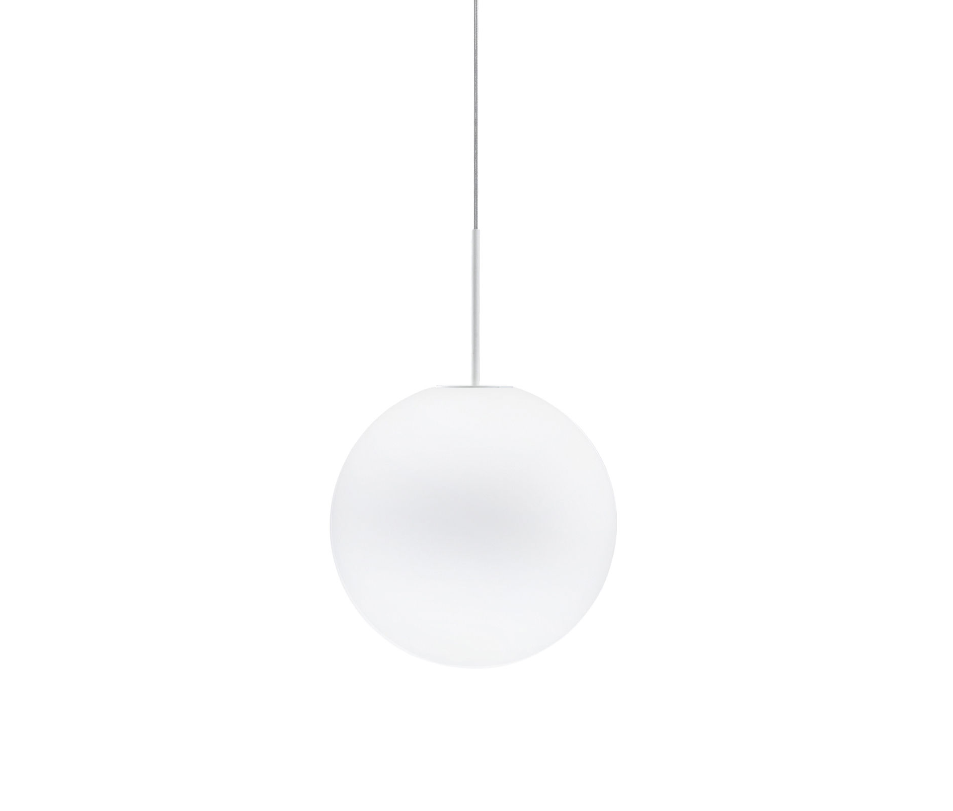 Luminaire - Suspensions - Suspension Sfera Ø 14 cm - Fabbian - Blanc - Ø 14 cm - Verre