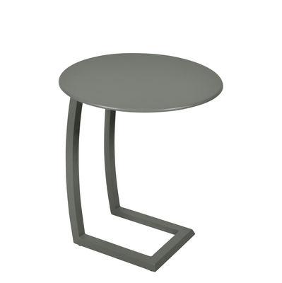 Table basse Alizé / déportée - Fermob romarin en métal