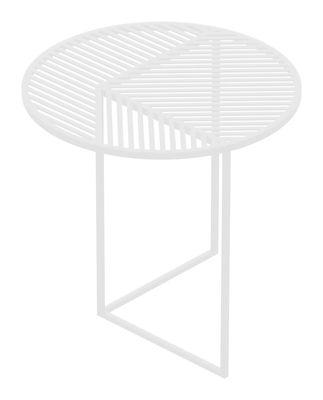 Table basse Iso-A / Ø 47 x H 44 cm - Petite Friture blanc en métal