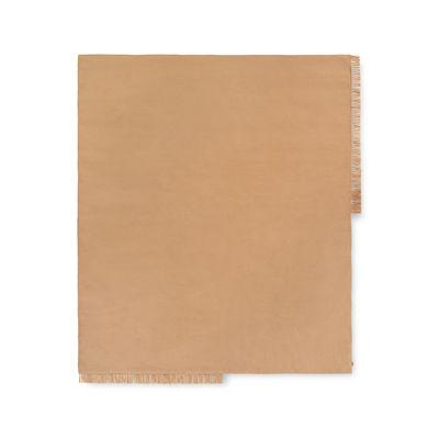Tapis d'extérieur Hem Square / 240 x 240 cm - Bouteilles plastique recyclées - Ferm Living beige en tissu