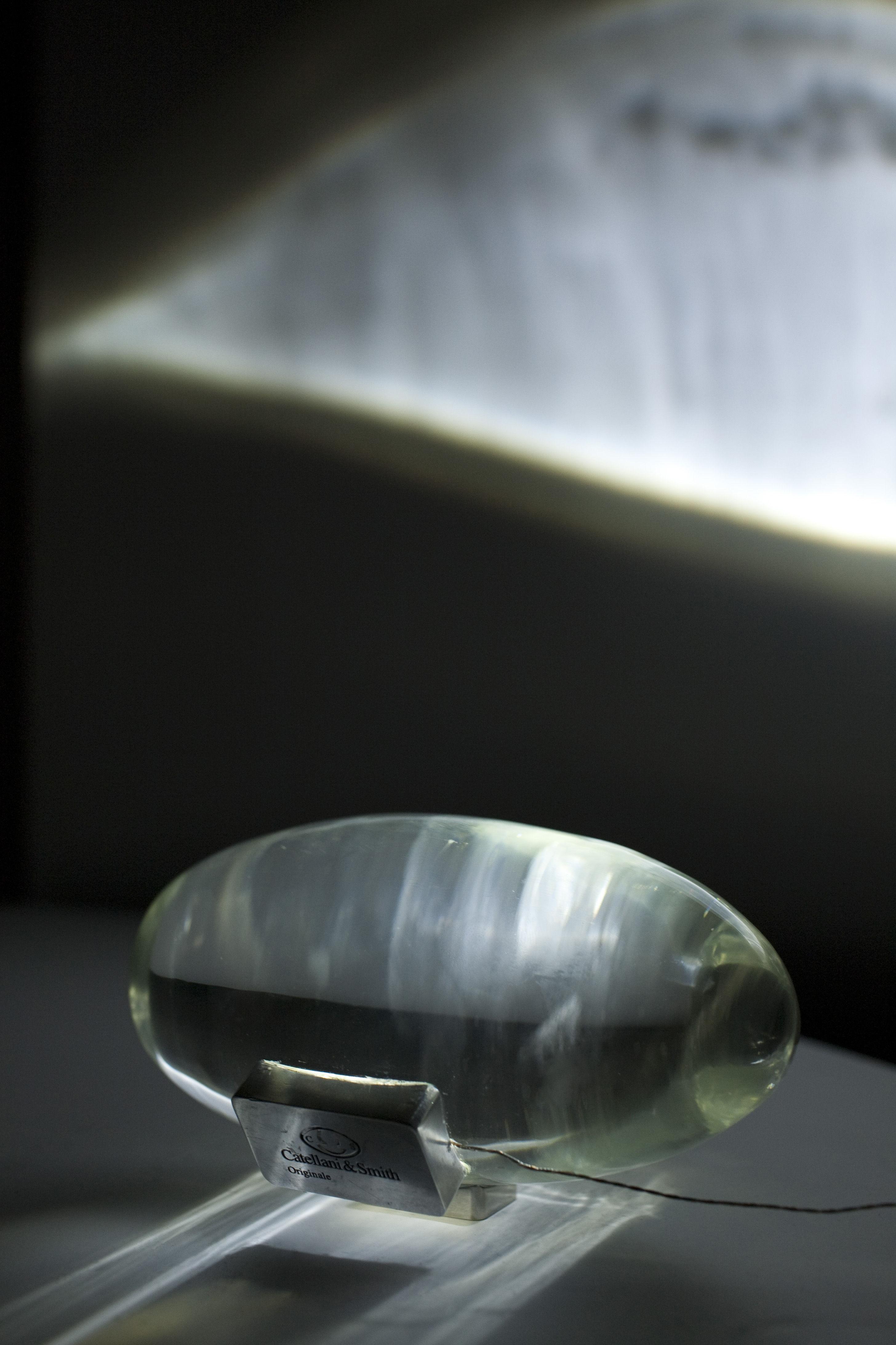 Leuchten - Tischleuchten - Atman Tischleuchte - Catellani & Smith - Transparent - Kristall