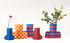 Flower Power Small Vase cover - / H 28 cm - Felt by Sancal