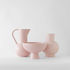 Strøm Large Vase - / H 24 cm - Handmade ceramic by raawii