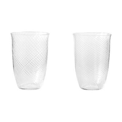 Arts de la table - Verres  - Verre SC61 / Set de 2 - H 12 cm / 400 ml - &tradition - 400 ml / Transparent - Verre soufflé bouche