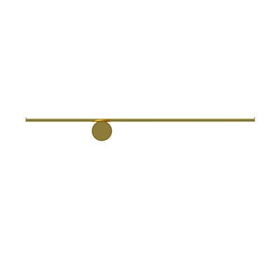Illuminazione - Lampade da parete - Applique Coordinates W1 - LED / L 80 cm di Flos - Champagne anodizzato - alluminio estruso
