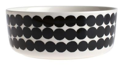 Bol Siirtolapuutarha / Ø 20 cm - Marimekko blanc,noir en céramique