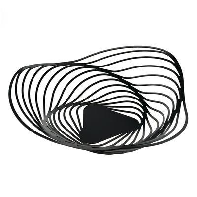 Centre de table Trinity / Ø 43 x H 10 cm - Alessi noir en métal