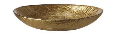 Arts de la table - Plats - Coupelle Como Small / 18 x 12 cm - Verre - Leonardo - L 18 cm / Or - Verre