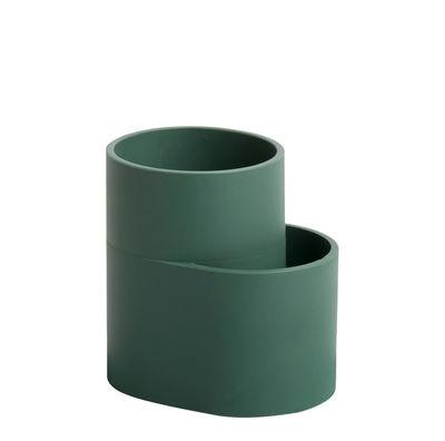 Cuisine - Vaisselle et nettoyage - Egouttoir à couverts Dish Drainer - Hay - Egouttoir couverts / Vert - Silicone