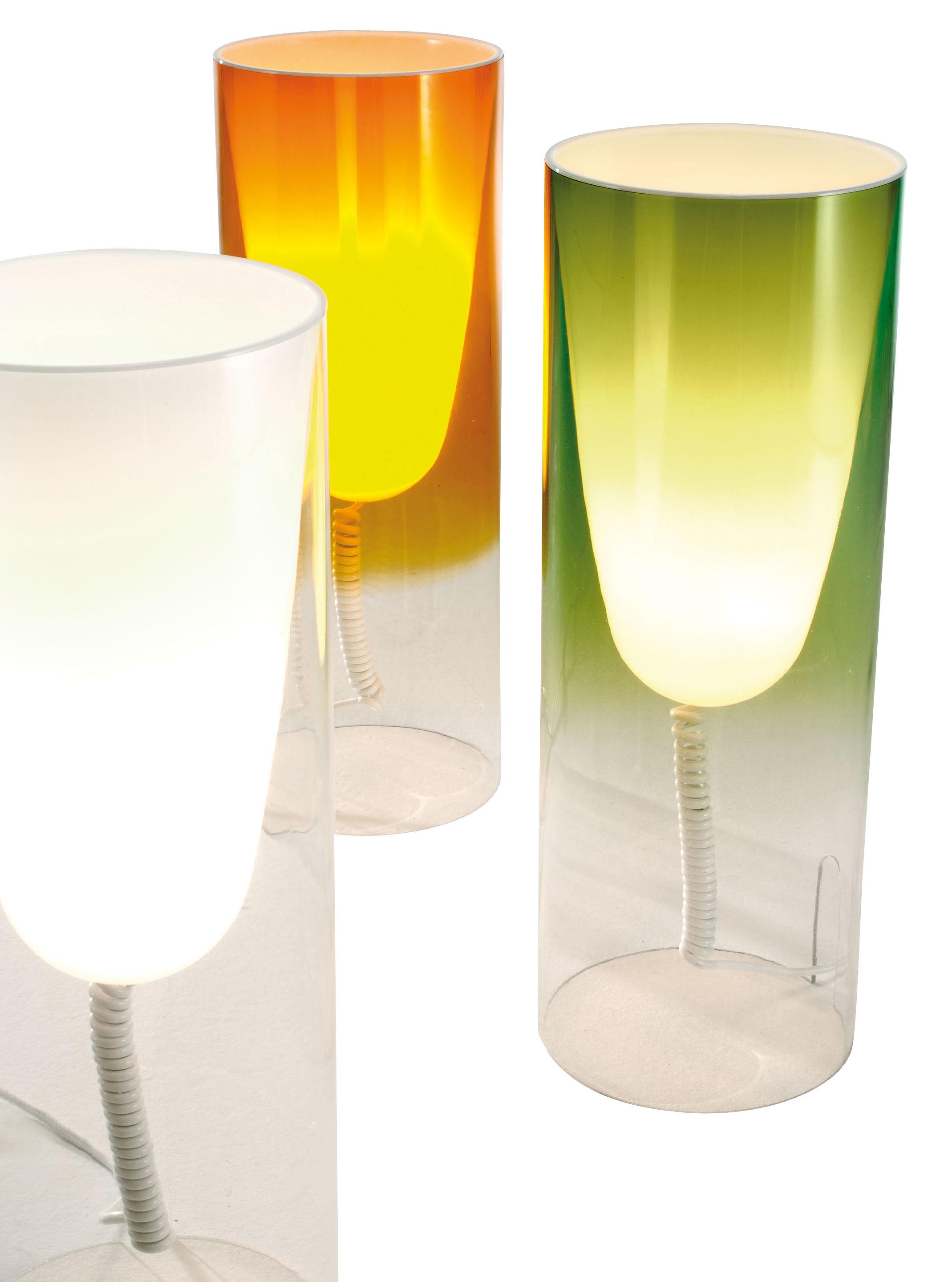 Lampada da tavolo Toobe Kartell - Rosso - Ø 20 | Made In Design