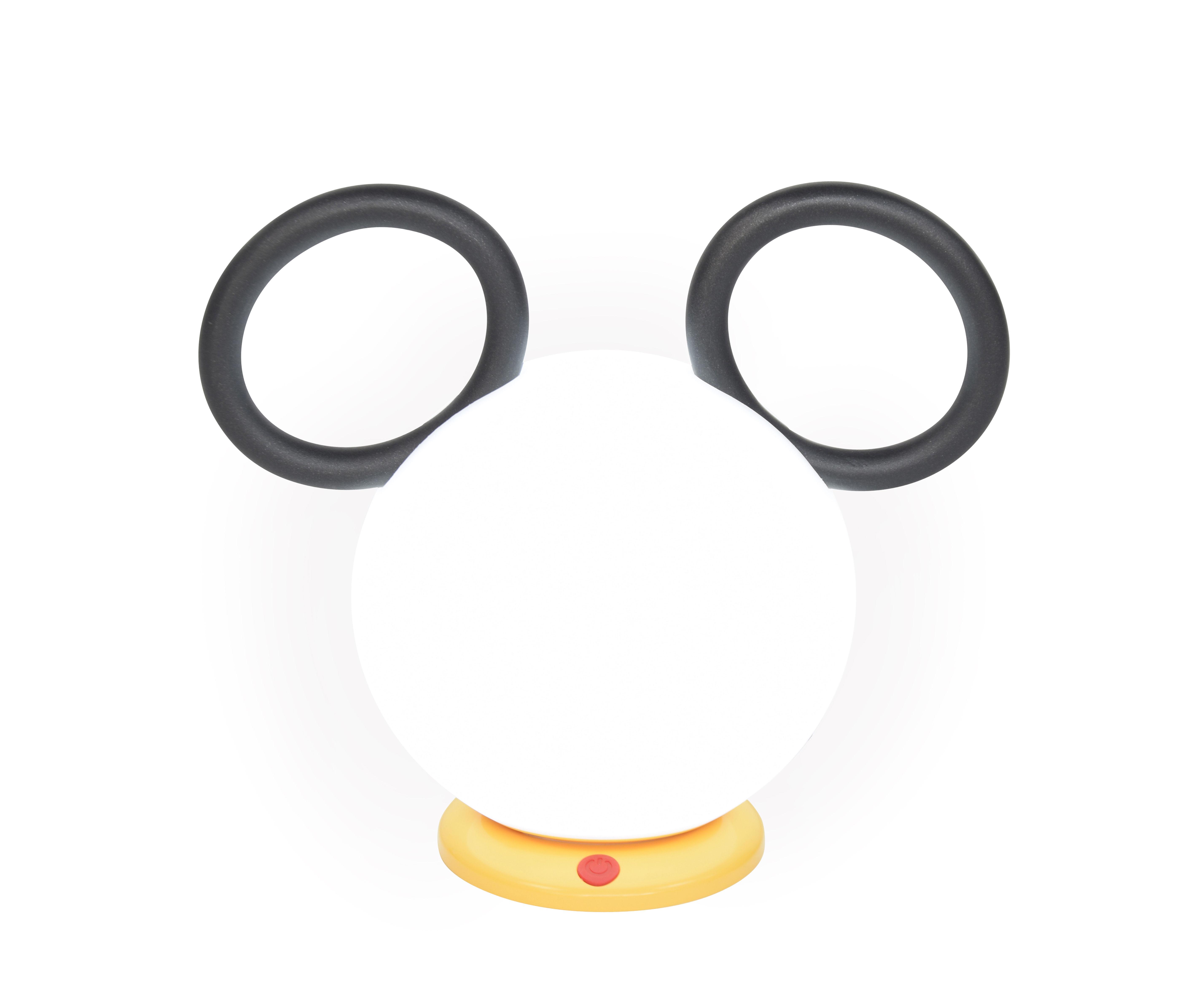 Interni - Per bambini - Lampada senza fili Mickey - / Ricarica USB di Fermob - Liquirizia - Alluminio, Polietilene