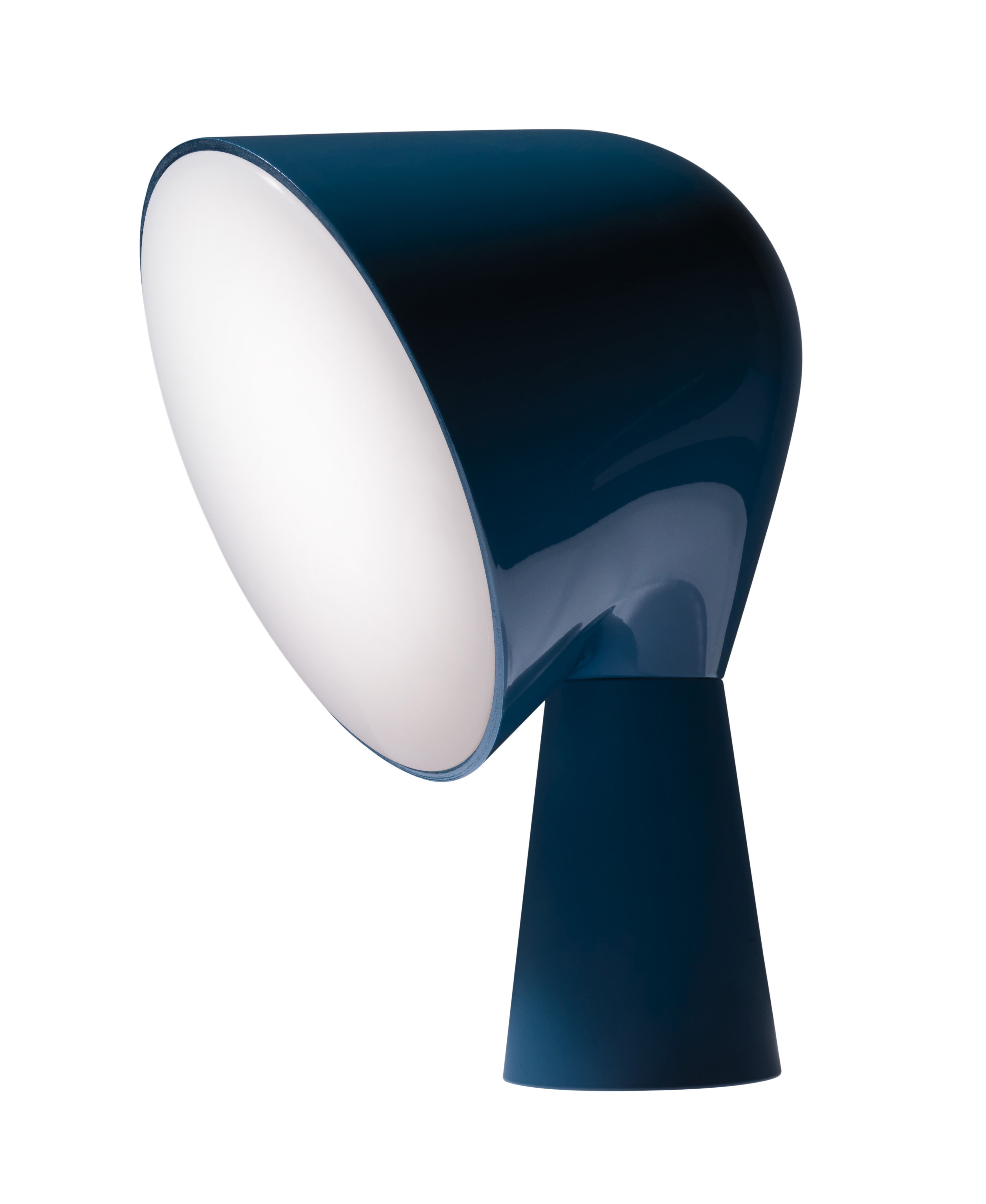 Luminaire - Lampes de table - Lampe de table Binic - Foscarini - Bleu pétrole - ABS, Polycarbonate