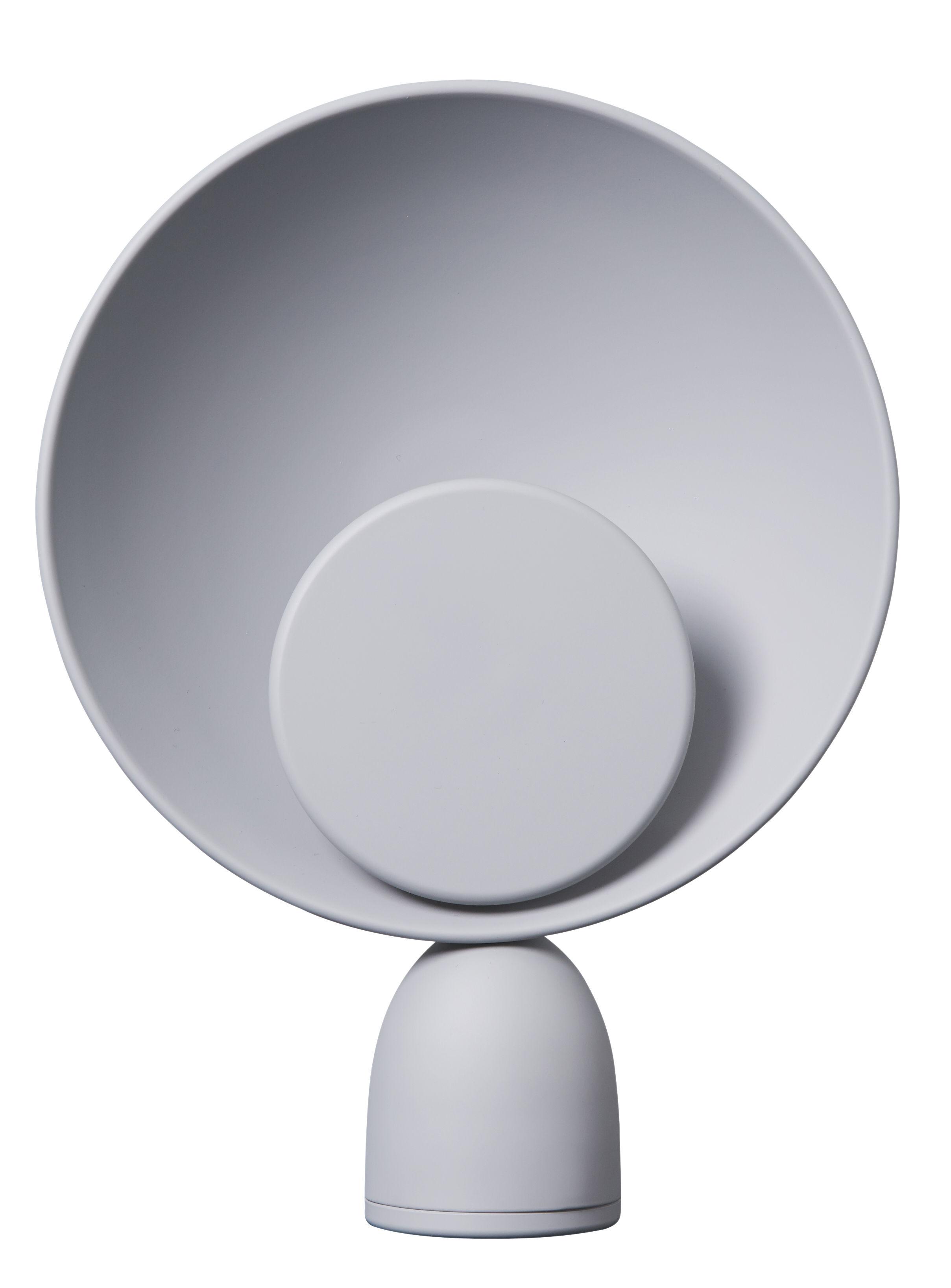 Luminaire - Lampes de table - Lampe de table Blooper / LED - H 35 cm - PLEASE WAIT to be SEATED - Gris cendre - Acier peint