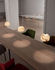 Neil XXL Pendant - / LED - Ø32 cm - Alabaster by Carpyen