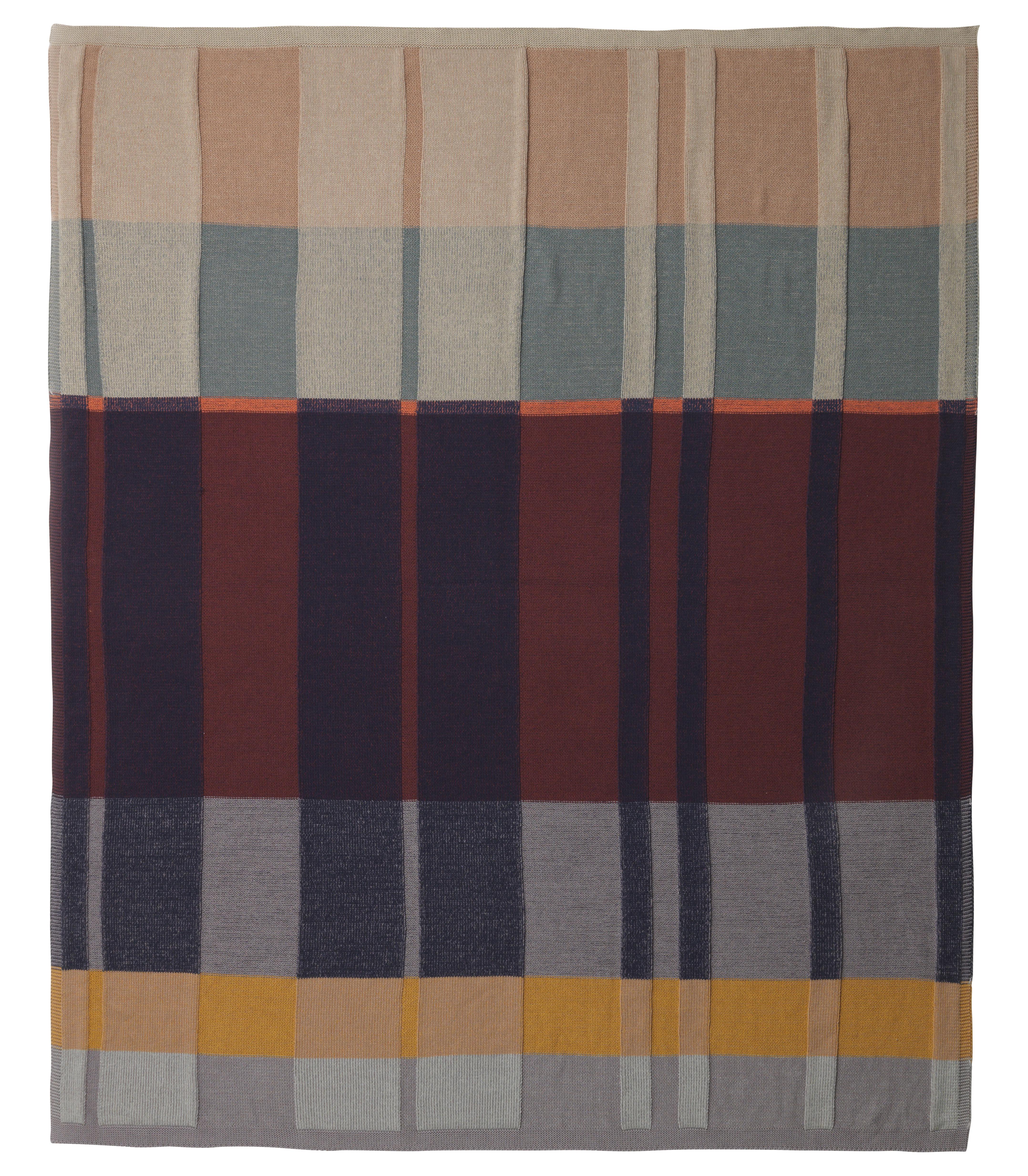 Déco - Textile - Plaid Medley Knit / 160 x 120 cm - Coton - Ferm Living - Multicolore - Coton