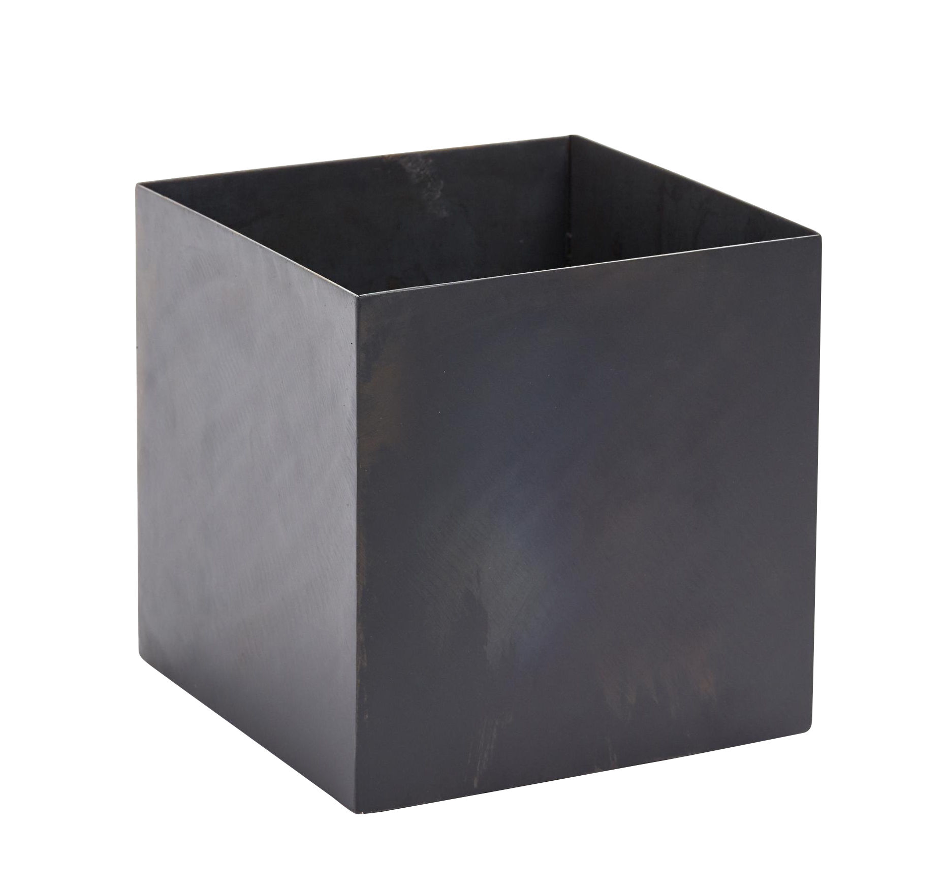 Decoration - Flower Pots & House Plants - Iron Pot - / 20 x 20 cm - Metal by Serax - Black - Lacquered metal