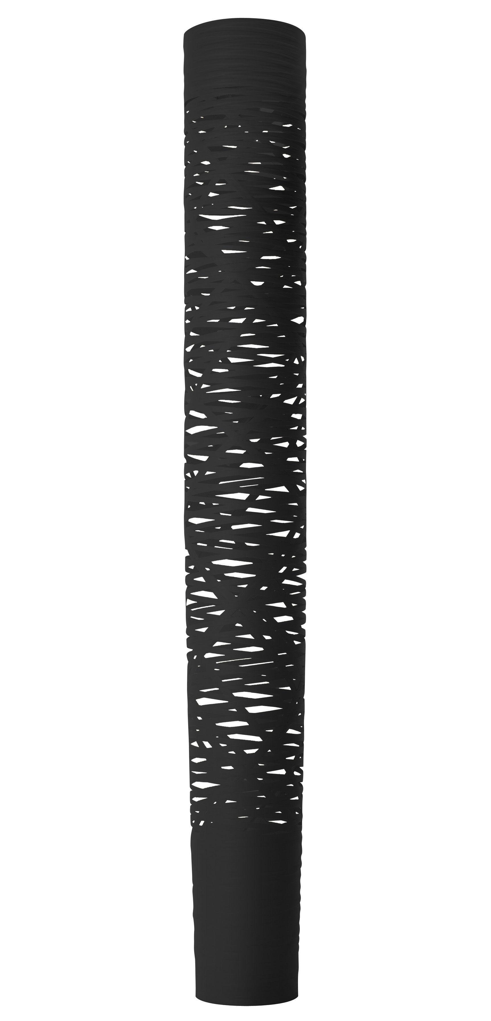 Leuchten - Stehleuchten - Tress Stehleuchte LED / H 195 cm - Foscarini - Schwarz - Glasfaser, Verbund-Werkstoffe