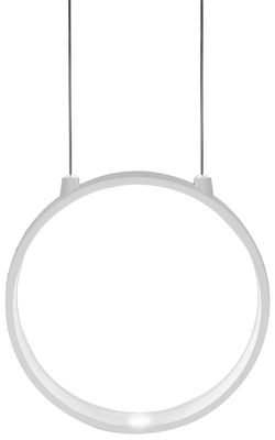 Suspension Eclittica LED / Ø 20 cm - Danese Light blanc en métal