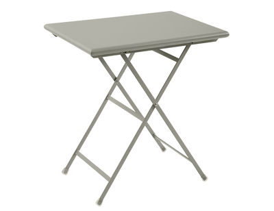Table pliante Arc en Ciel / 70 x 50 cm - Emu gris en métal