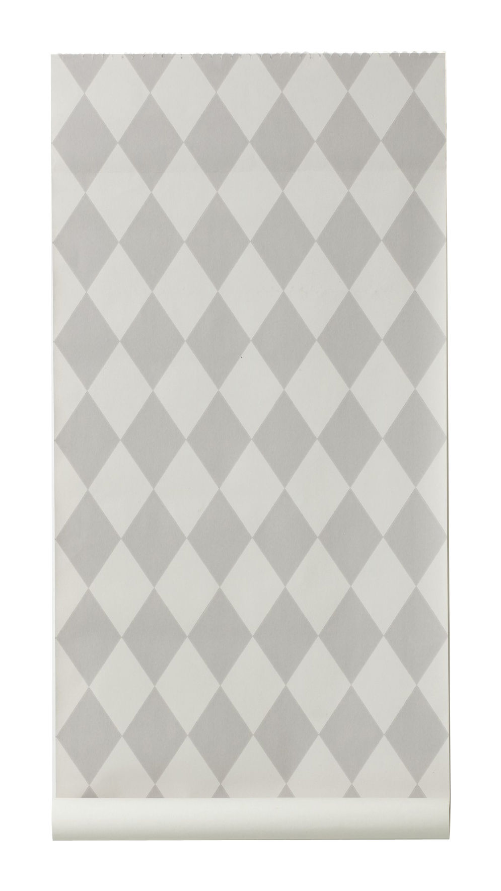 Decoration - Wallpaper & Wall Stickers - Harlequin Wallpaper - 1 panel by Ferm Living - Grey & Light grey - Non-woven fabric