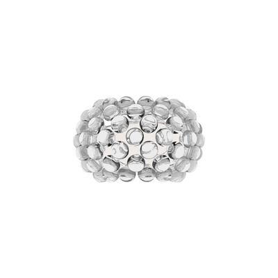 Illuminazione - Lampade da parete - Applique Caboche Plus - Small / LED - L 31 cm di Foscarini - Trasparente - PMMA