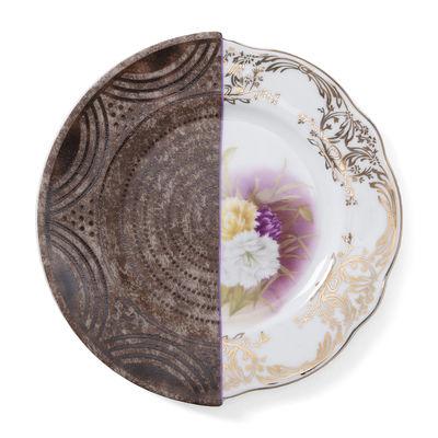 Arts de la table - Assiettes - Assiette à dessert Hybrid Nok / Ø 20 cm - Seletti - Nok - Porcelaine