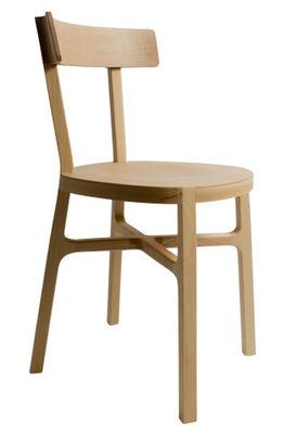 Mobilier - Chaises, fauteuils de salle à manger - Chaise Stia / Bois - Internoitaliano - Hêtre - Hêtre massif