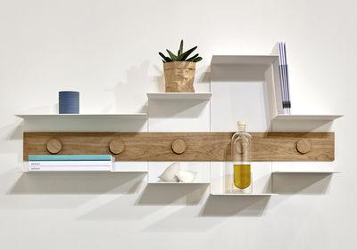 etag re junction l 120 cm blanc bois naturel serax made in design. Black Bedroom Furniture Sets. Home Design Ideas